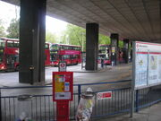 Eustonbusstation 707