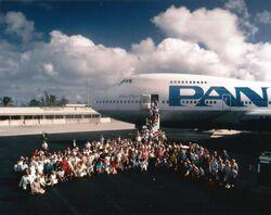 China Clipper II at Wake Island 1985