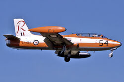 RAAF Commonwealth CA-30 (MB-326H) landing at RAAF Air Base Edinburgh