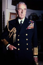 Lord Mountbatten Navy Allan Warren