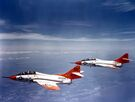 F8F-8T Cougars of VMT-1 in flight in 1962