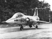 West German F-104 Starfighter