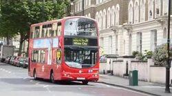London Buses at Kilburn Park Station 21st July 2016