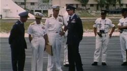 President Nixon's Visit To Johnston Atoll (1969) Silent