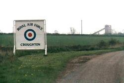 RAF Croughton 1977