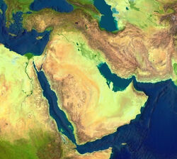 Middle East geographic