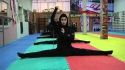 Iran's female ninjas in training Channel 4 News