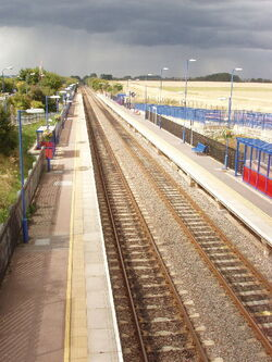 Haddenham and Thame Parkway railway station 1