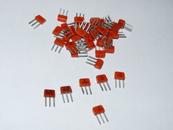 Mountain of USSR transistors