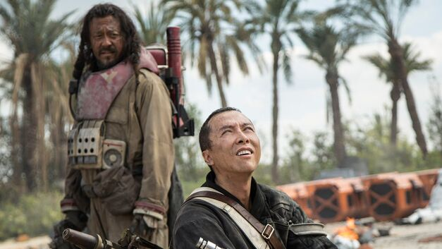 Baze and Chirrut from Rogue One