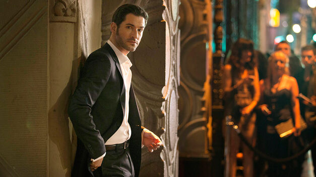Tom Ellis as Lucifer on FOX