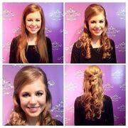 Jana Duggar hair and makeup