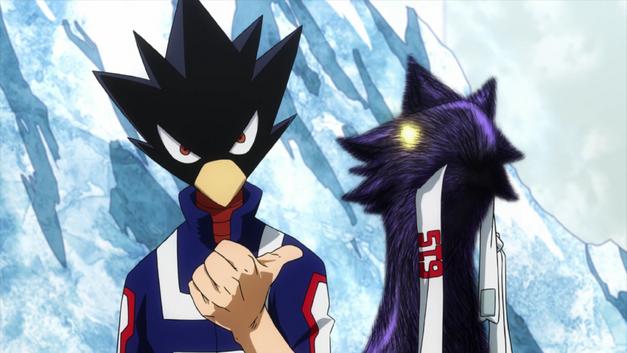 Fumikage Tokoyami, the bird man.