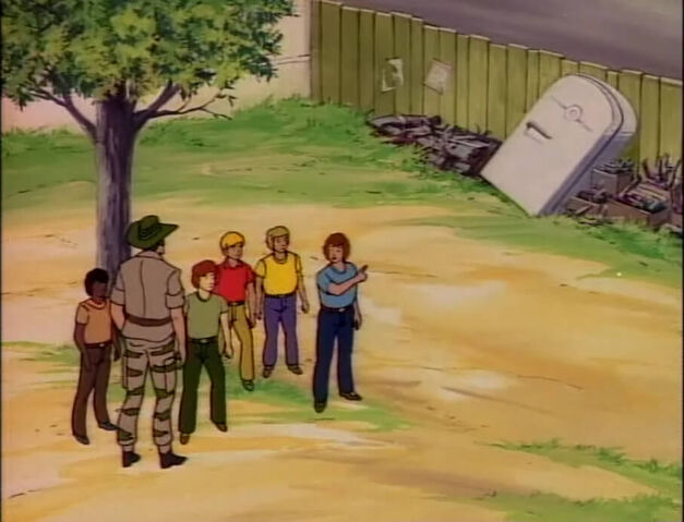"""""""He went in there Recondo!"""" """"Well kids, better call the meat wagon."""""""