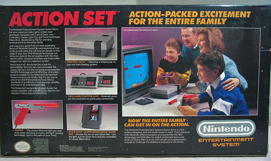 Nintendo Entertainment System box