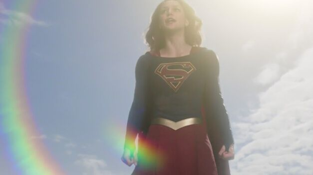 Supergirl Kara Flying