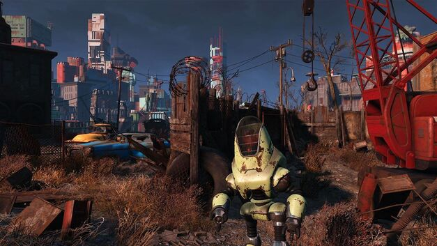 Fallout 4 Open World