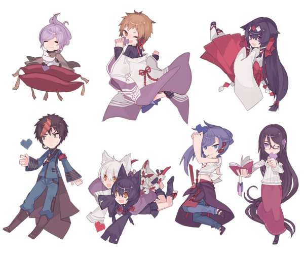 Sunset Hill Characters