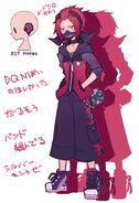 Akitaka character design