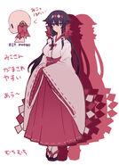 Hakuhi character design