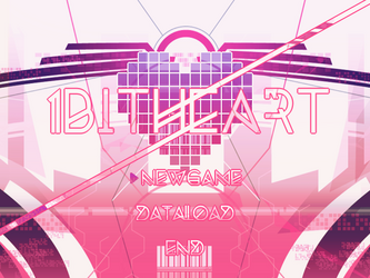 1bitheart Start Screen