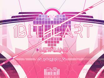 1bitheart Start Screen