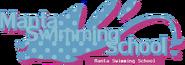 Manta Swimming School SIgn