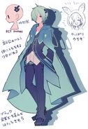 Mikado character design