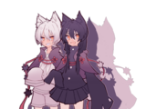 Kuroku & Shiroro Yakumo