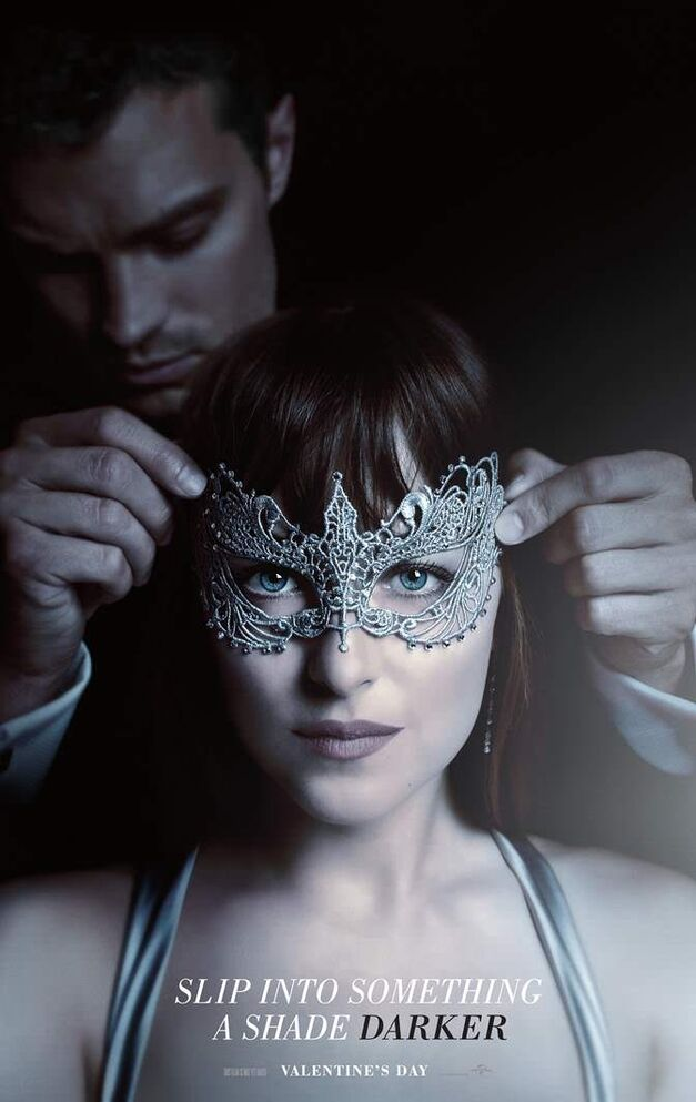 fifty shades of grey darker poster