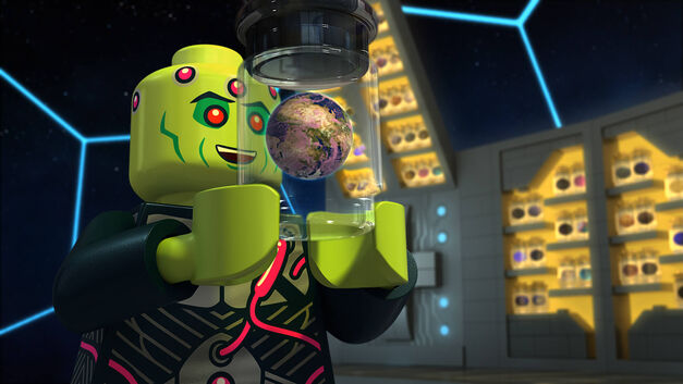 Lego Justice League Cosmic Clash Brainiac