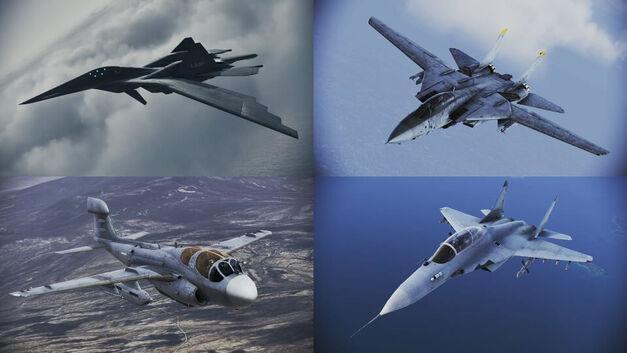 Ace Combat New Aircraft
