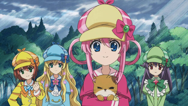 Detective Opera Milky Holmes: Arsene's Magnificent Desire four detectives