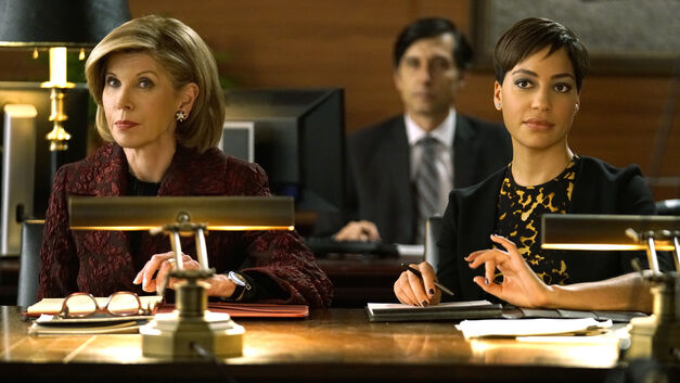Ep 103 THE GOOD FIGHT. Pictured: (l-r) Christine Baranski as Diane Lockhart, Cush Jumbo as Lucca Quin