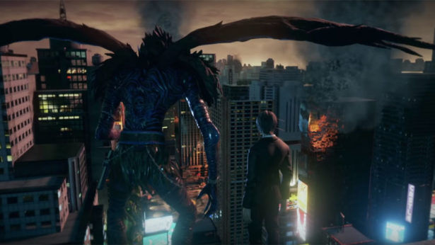 Light and Ryuk from Death Note in Jump Force