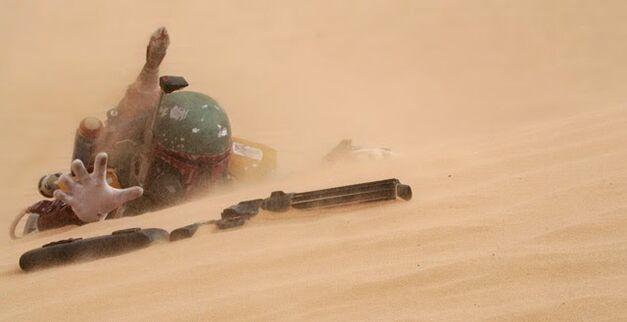 Star Wars Boba Fett sarlacc