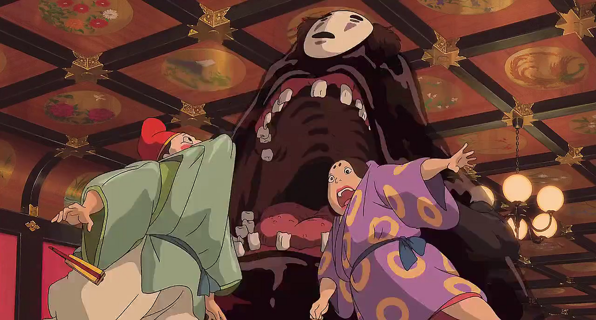 Spirited Away The Many Faces Of No Face Fandom