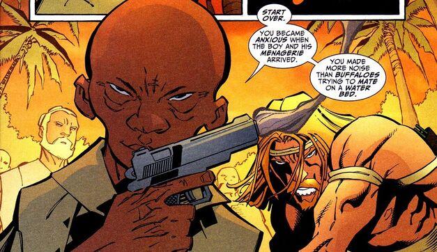Green Arrow Villain Natas (2)