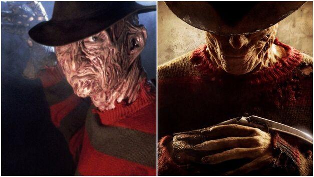 OG Freddy Krueger vs updated Freddy Krueger