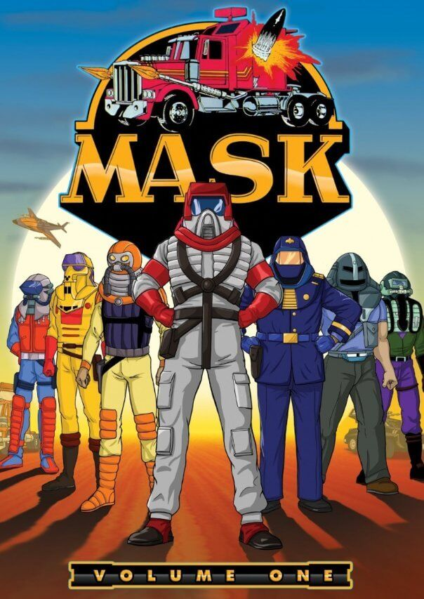 MASK characters
