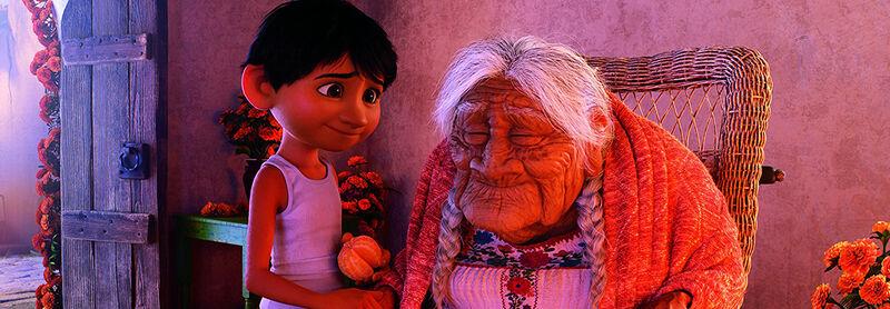 Miguel and Coco Pixar's Coco