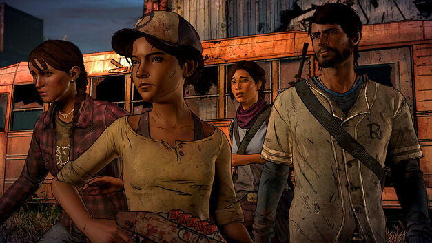 Telltale Walking Dead A New Frontier Review The Walking Dead Telltale New Frontier Review
