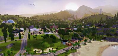 Sunset-valley