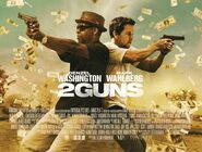 2 Guns theatrical banner