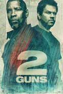 2 Guns alternate poster