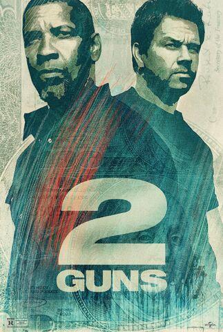 File:2 Guns alternate poster.jpg