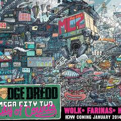 Judge Dredd Mega-City Two: City of Courts advert