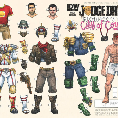Judge Dredd Mega-City Two: City of Courts issue 2 variant cover