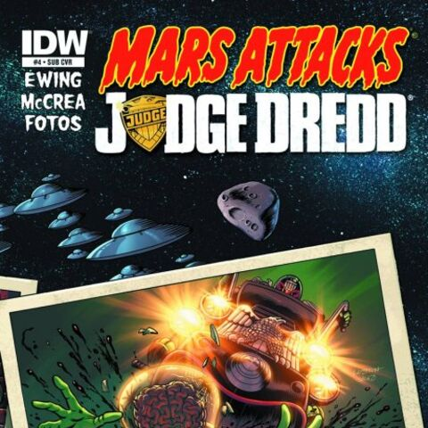 Mars Attacks Judge Dredd subscribers variant cover