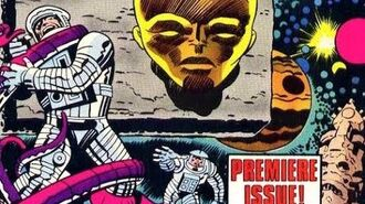 2001 A Space Odyssey Pt.1 Jack Kirby Marvel Comics